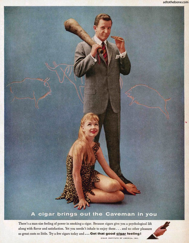 1959 ad from the Cigar Institute of America, Inc.
