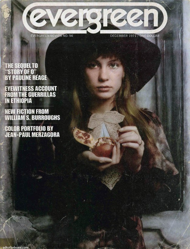 Cover of Evergreen Review, December 1971