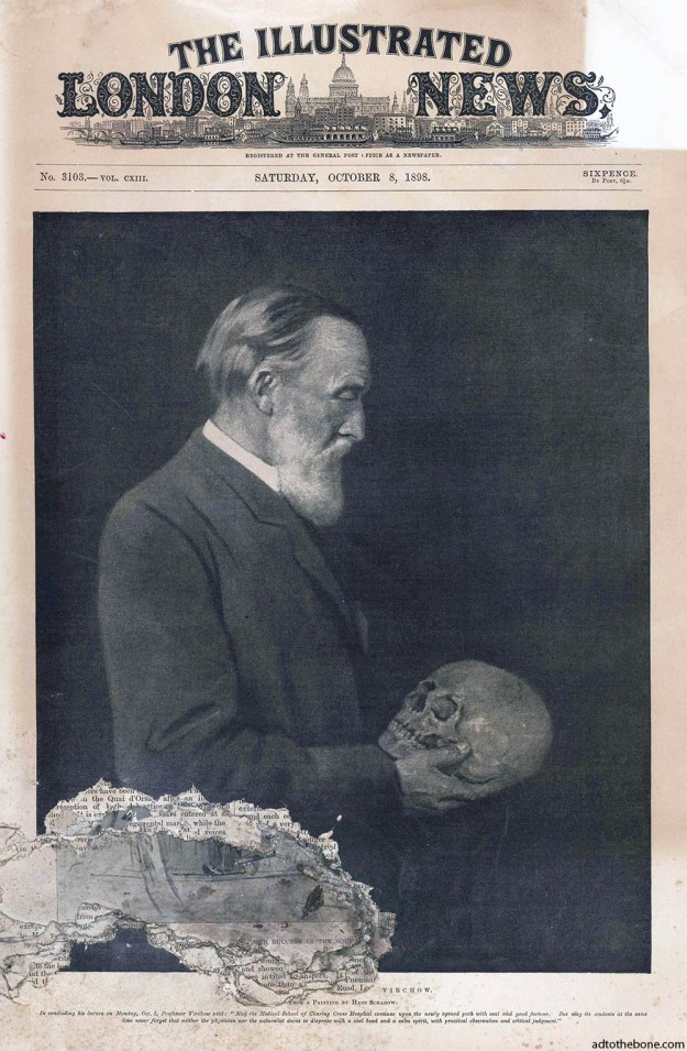 Illustrated London News for Saturday, October 8, 1898 with Professor Rudolf Virchow on the cover