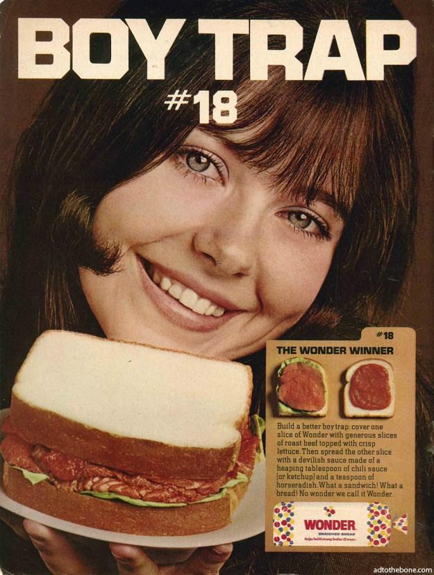 1969 ad for Wonder Bread