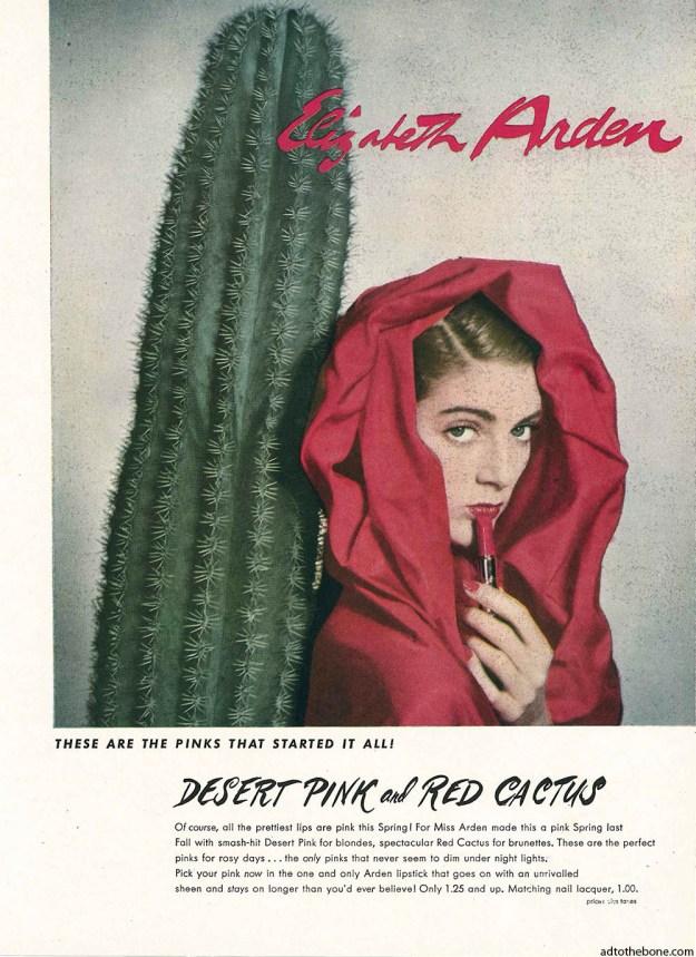 1948 magazine ad for Elizabeth Arden