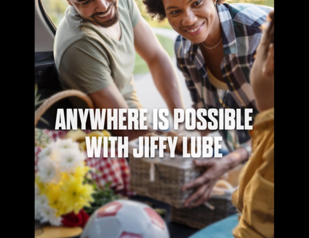 Anywhere is possible with Jiffy Lube