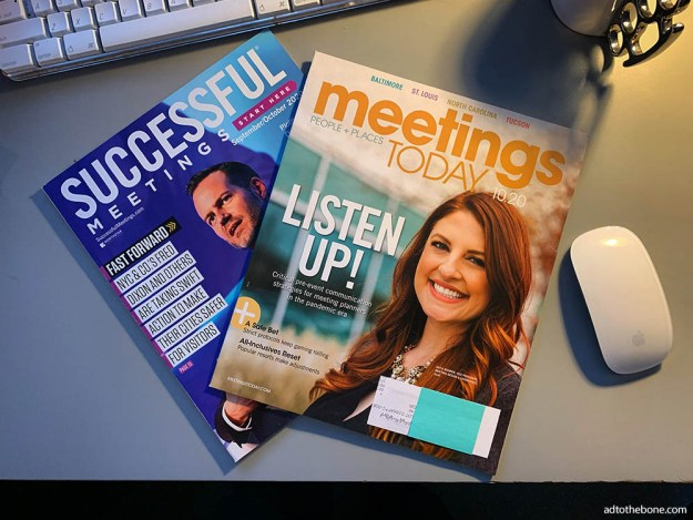 Successful Meetings and Meetings Today magazines