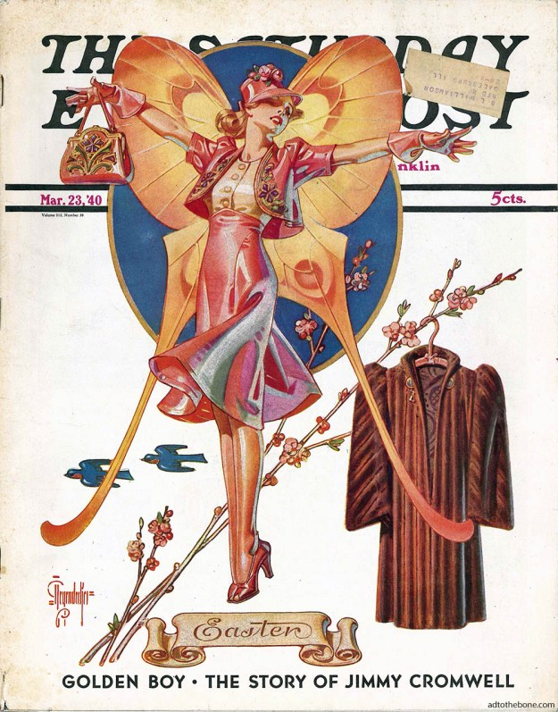 Cover of the March 23, 1940 Easter issue of The Saturday Evening Post