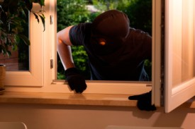 Image result for window without glass burglary