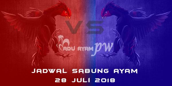 Jadwal Sabung Ayam 28 Juli 2018