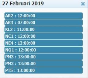 Jadwal Sabung Ayam 27 Febuary 2019
