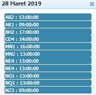 Jadwal Sabung Ayam 28 Maret 2019