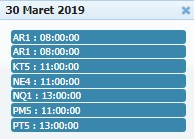 Jadwal Sabung Ayam 30 Maret 2019