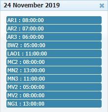 Jadwal Resmi Adu Ayam Online 24 November 2019