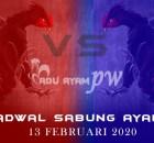 Prediksi Terpercaya Sabung Ayam 13 Februari 2020