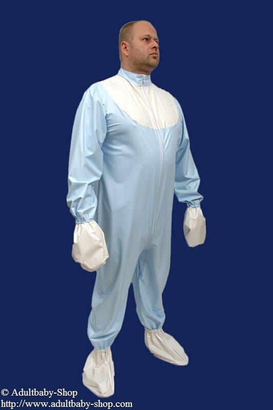 PVC adult baby romper suit  AdultbabyShop ABDLDiaper
