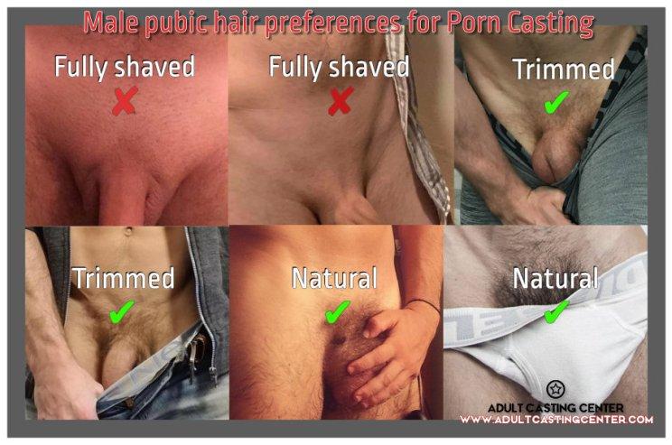 male pubic hair for porn jobs