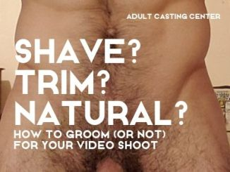 shaving pubic hair males