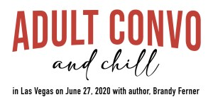 Red Adult Convo and Chill logo