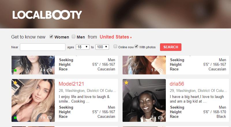 LocalBooty.com fake profiles