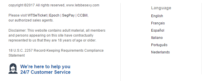 letsbesexy.com-languages-support-paymentpartners