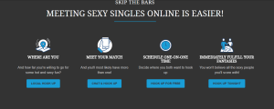 Instant Hookups meeting screen