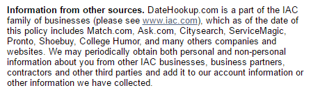 Date Hookup network