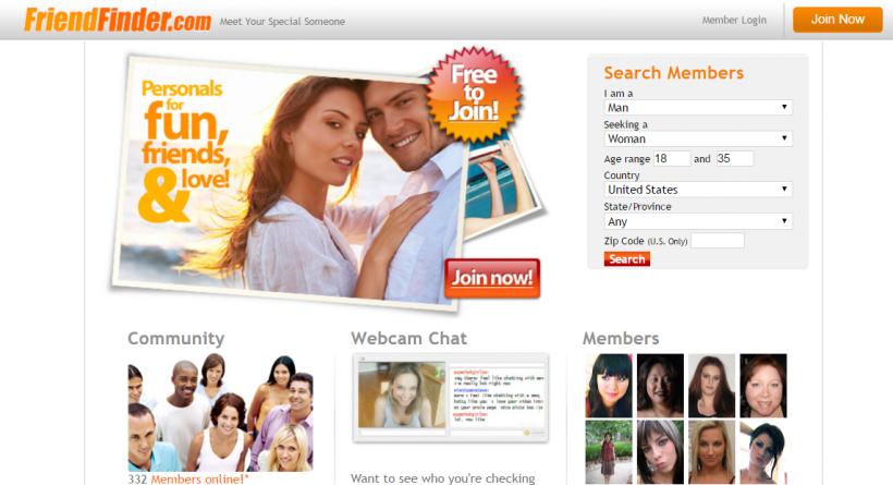 FriendFinderNetwork.com screencap
