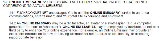 Fuckbook Net emissaries