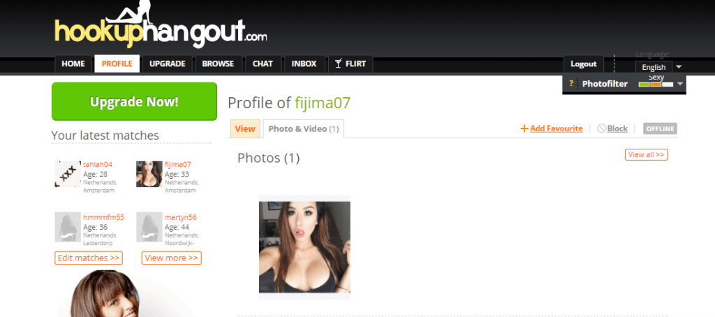 Hookup Hangout reverse search query