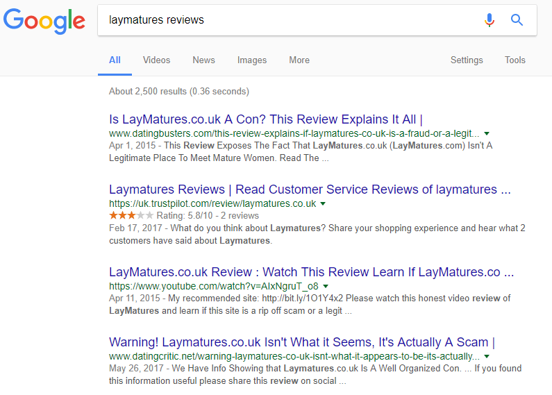 Lay Matures reviews