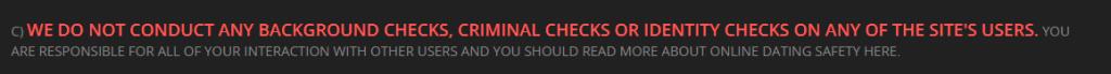 DoUWantMe member checks