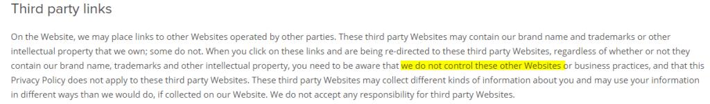 UK Sex Flirts third-party websites