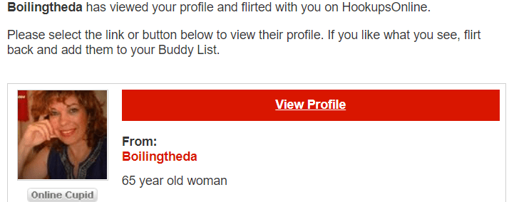 HookupsOnline.com Scam
