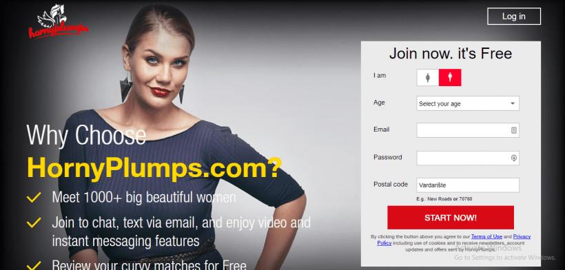 HornyPlumps.com screencap