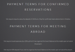 Macedonna payment terms