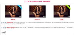 Atlas Escorts VIP Ads