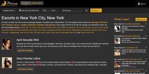 MassageRepublic.com screenshot