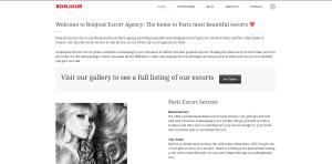 Bonjour Escort review screenshot