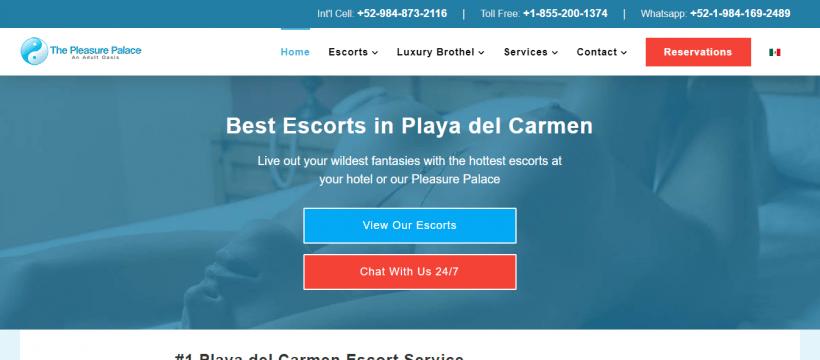 Playa Escorts Review screenshot