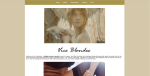 Vice Blondes Review screenshot