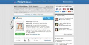 DatingAdvice.com Review home page
