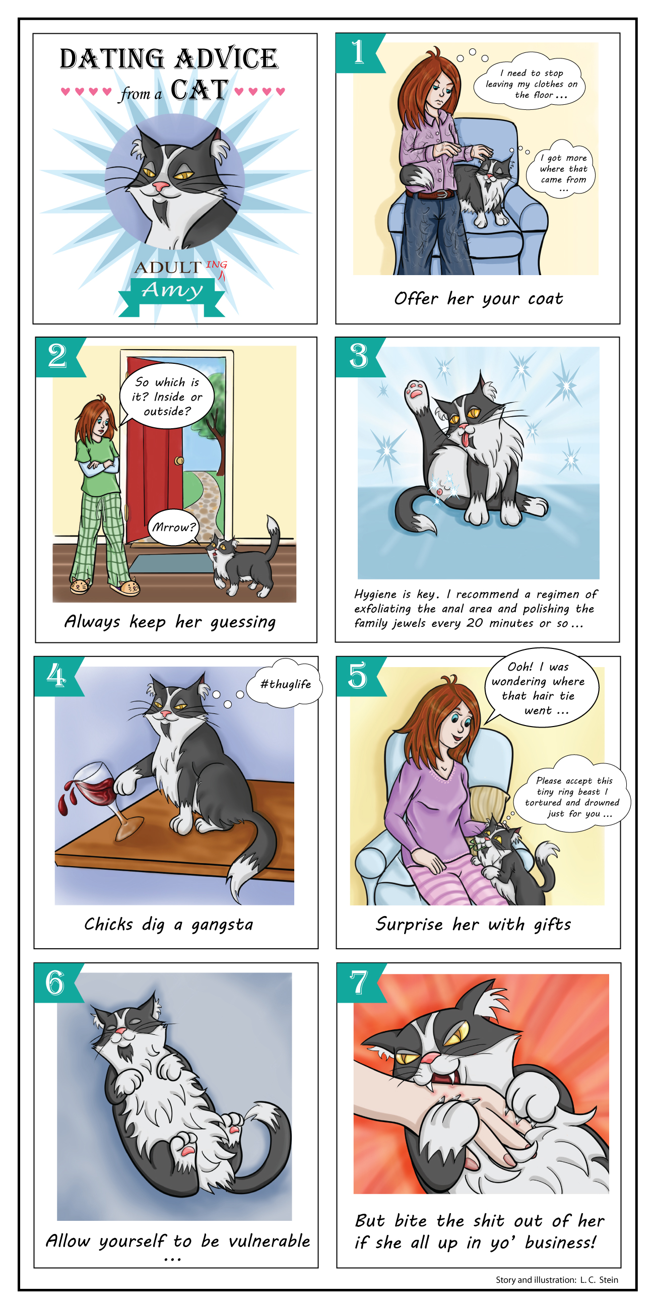 Dating Advice From a Cat