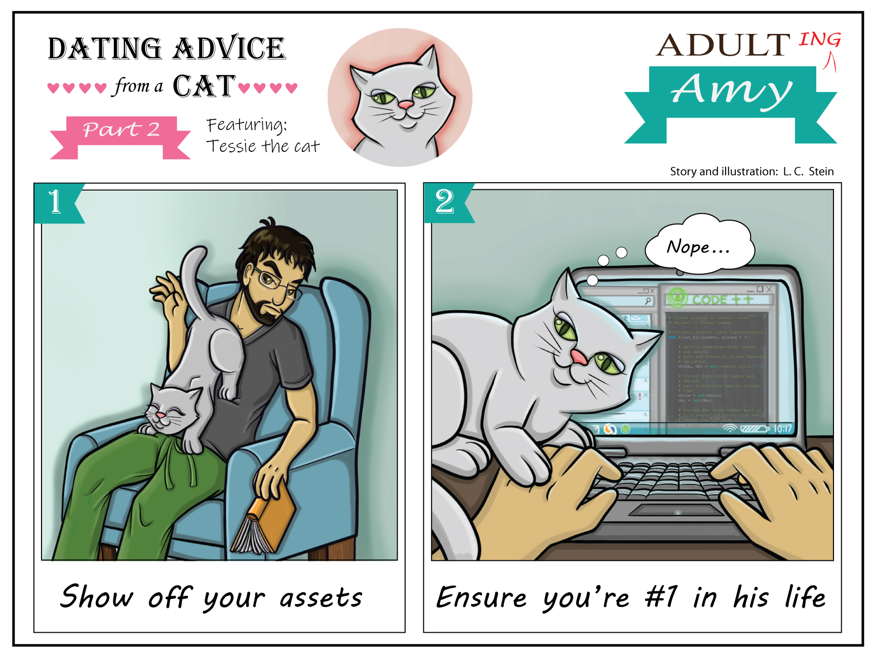 Dating Advice From A Cat: Ladies Edition (Part 1)