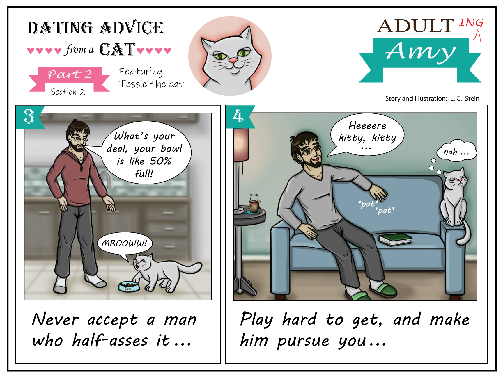Dating Advice From a Cat: Ladies Edition (Part 2)