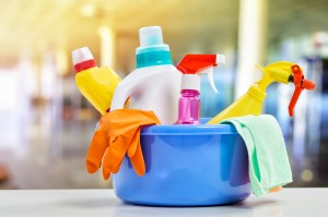 Cleaning Supplies Bright
