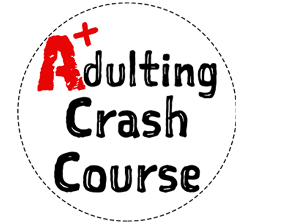 Adulting Crash Course Logo Wide