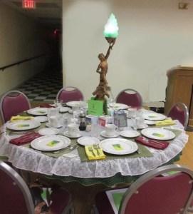 2018 Festival of Tables ALI table