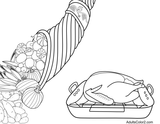 Thanksgiving Coloring Pages: Tint Yourself a Turkey!