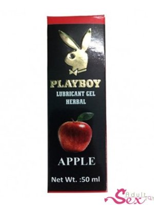 Playboy Lubricant Water Based Gel – Apple Flavoured - adultsextoy.in