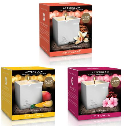 Afterglow Massage Oil Candle