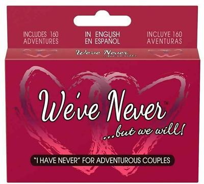 We've Never but Will Couples Games