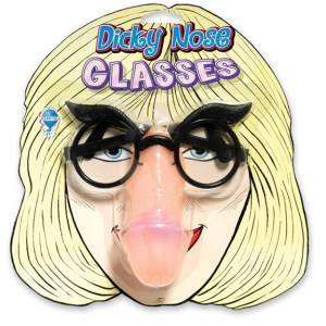 Pipedream Phoney Face Pecker Dicky Nose Glasses Party Favor