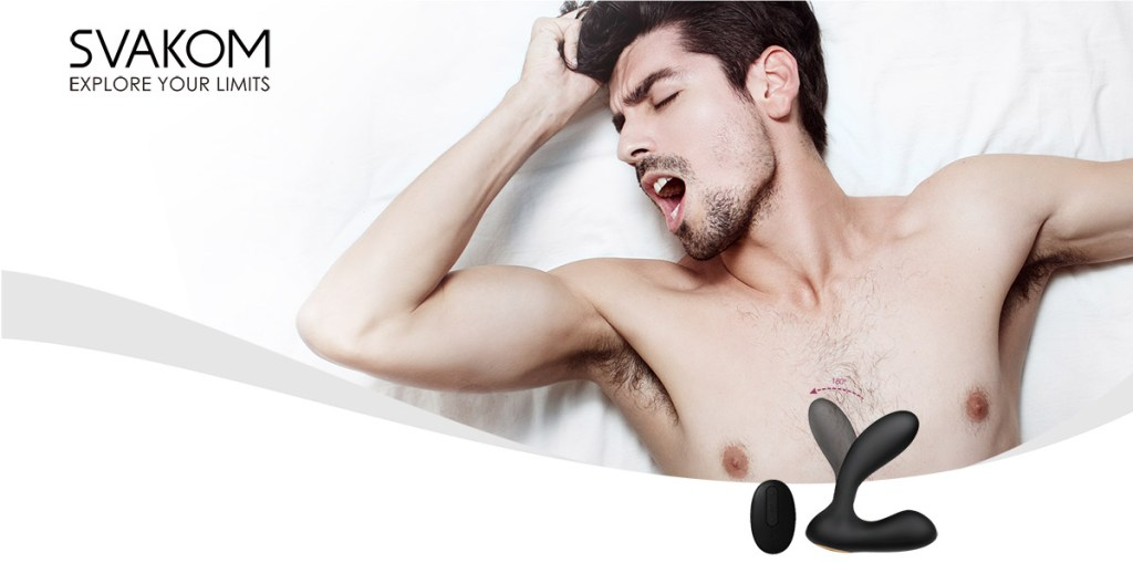 SVAKOM Vick Flexible Dual motor Prostate Massaging Vibrator
